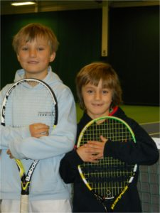 Oliver and Dominic Vesely