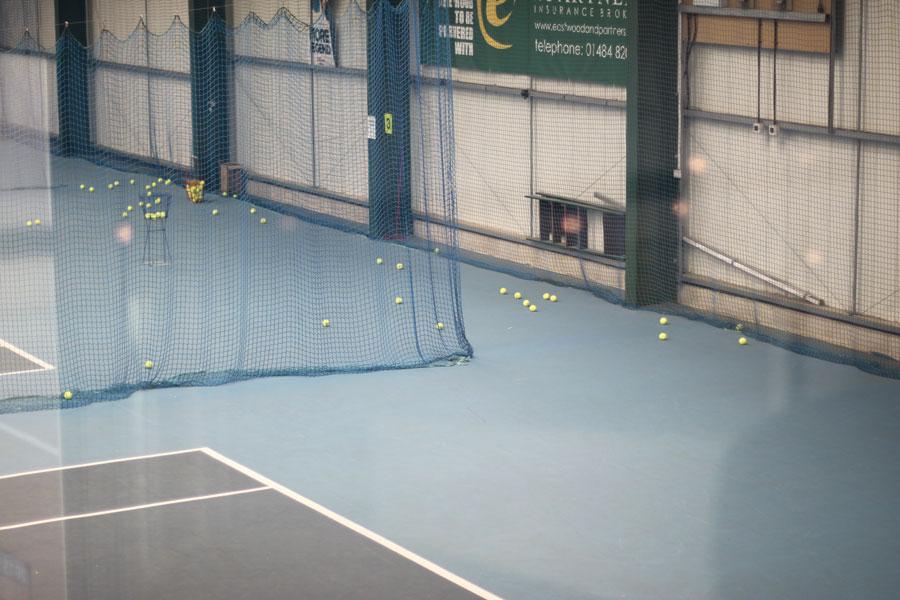 Indoor Tennis Court Access