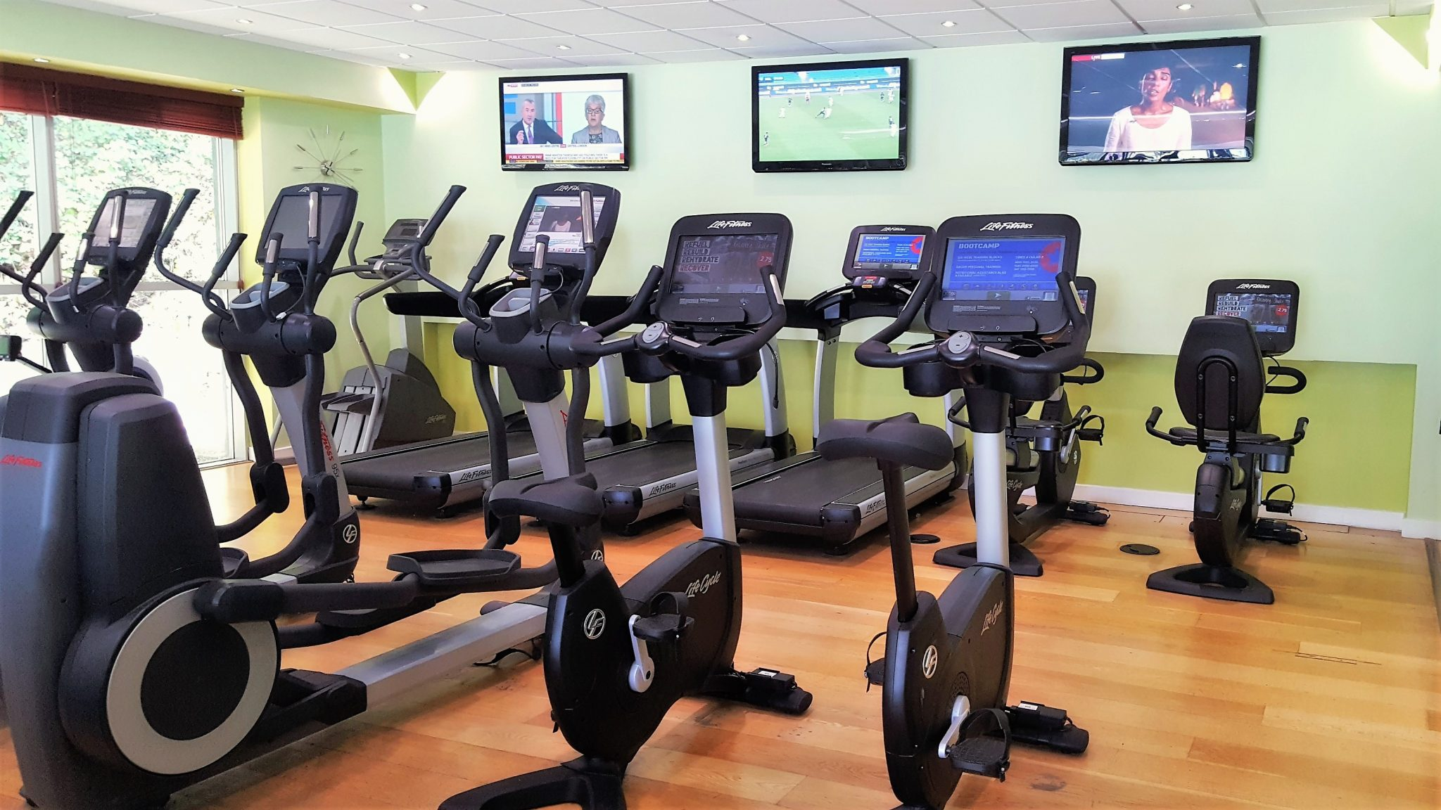 Fitness Equipment and Thongsbridge Fitness Club Gym