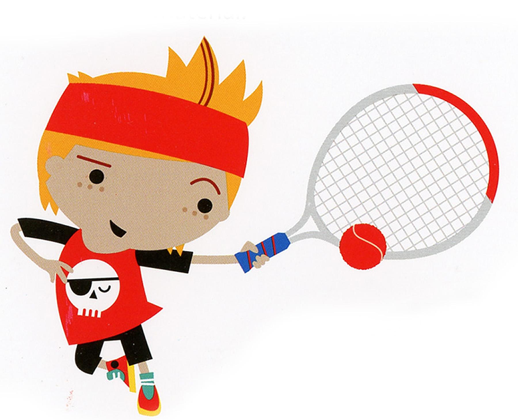 Mini Tennis Courts - Coaching Target Wall